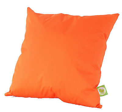Waterproof Outdoor Garden Furniture Seat Bench Cushion Filled with Pad - Orange