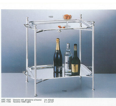 Silver Collapsible Stand & Two (2) Trays