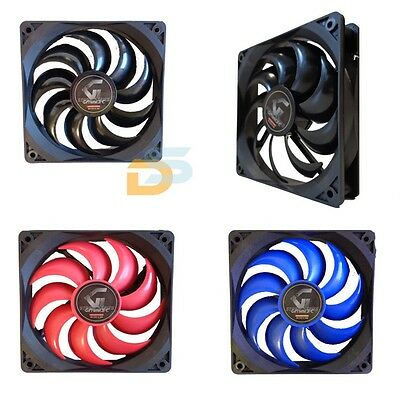 Ventola Per Case Silenziosa Pc Fan Speed Raffreddare 3 Pin To Molex 4 Pin