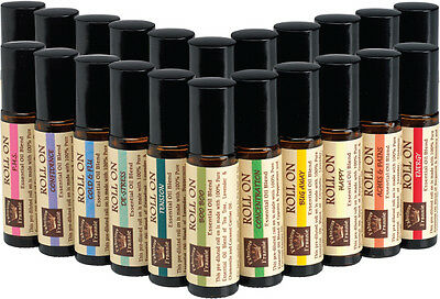 100% Pure Essential Oil Roll Ons Blends 10ml BUY 3 GET 1 FREE Fabulous Frannie