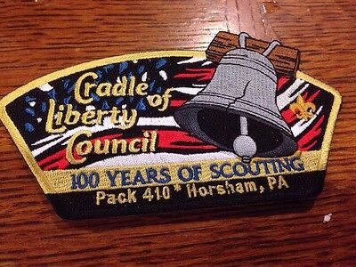 MINT CSP Cradle Of Liberty Council 100th Anniversary Pack 410
