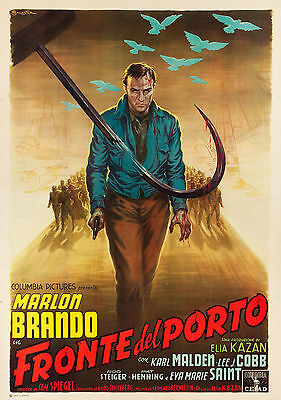 On The Waterfront - Original Italian Poster