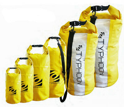 Typhoon Yellow roll top dry bags