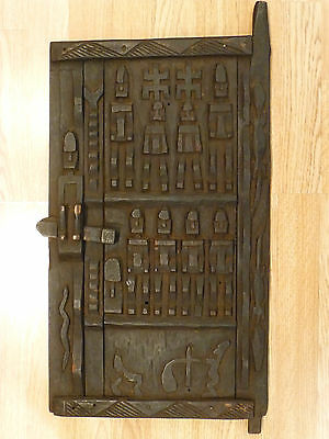 Antique Authentic Mali Granary Door Dogon Tribe West African Traditional Crafts