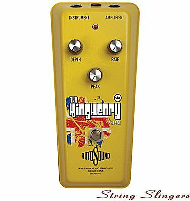 Rotosound 'The King Henry' Phaser Effects Pedal, RKH1