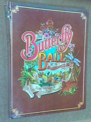 The Butterfly Ball and The Grasshopper's Feast by William Plomer Hardback Book