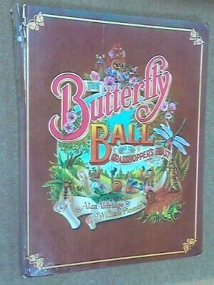 The Butterfly Ball and the Grasshopper's Feast, William Plomer Hardback Book The