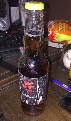 Friday The 13Th Cream Soda Bottle Signed By Harry Manfredini