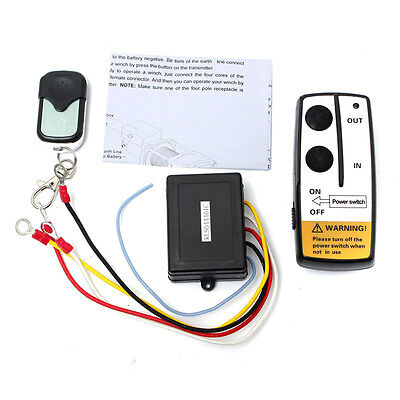 12V 50ft Winch Wireless Remote Control Switch Unit for Truck ATV SUV Winch