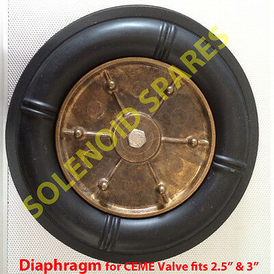 "DIAPHRAGM  2.5"" and 3"" for solenoid valve CEME 86 Series only"