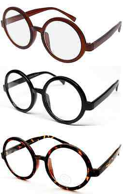 Harry Potter Nerd Bookworm Round Eye Glasses Halloween Dress Up
