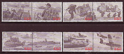 ISLE OF MAN 2004 60th ANNIVERSARY OF D-DAY UNMOUNTED MINT