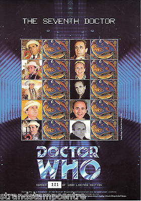 BC-046 - Doctor Who - The Seventh Doctor Smilers Stamp Sheet