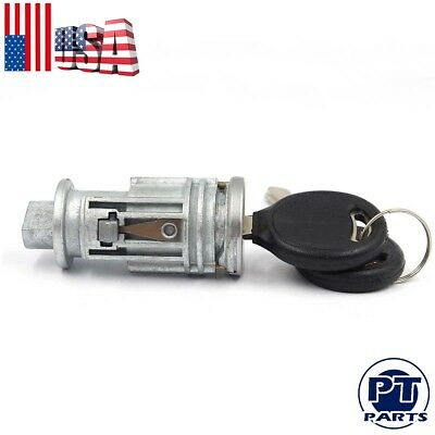 Ignition Key Switch Lock Cylinder for Chrysler Dodge Jeep Plymouth 2keys 2 match