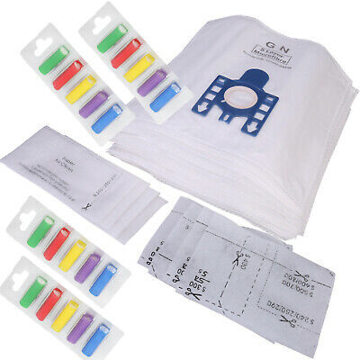 20 x GN Type Vacuum Dust Bags Filters & 20 x Air Fresheners For Miele S5211