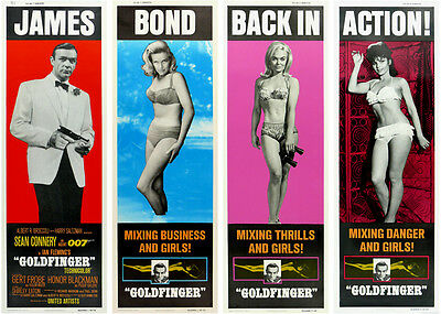Movie POSTER James Bond 007 Goldfinger Sean Connery 20x28 inch