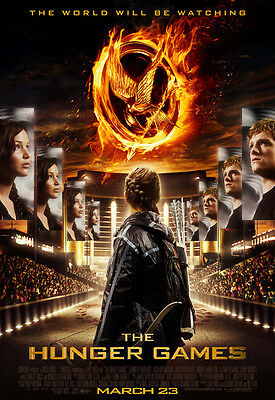 Movie POSTER The Hunger Games Jennifer Lawrence 20x29 inch