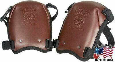 Occidental Leather 5022 Leather Knee Pads with Quick Release Fasteners