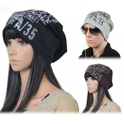 Fashion Men's / Women's Unisex Letter Slouch Hot Beanie Hat Cap