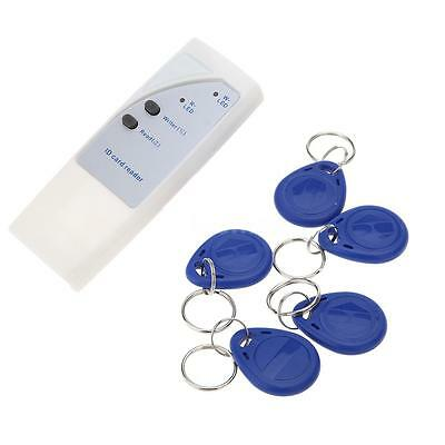 125Khz RFID ID Card Reader Copier Writer Duplicator and Writable Cards& Key Fobs