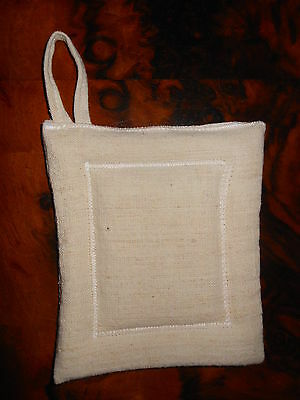 Presina in canapa bianca White Hemp Holder Poignée en chanvre blache 13x11 B4