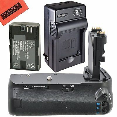 BG-E13 Replacement Battery Grip for Canon EOS 6D + 1 LP-E6 Battery + Charger