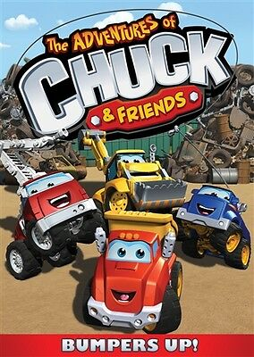 THE ADVENTURES OF CHUCK & FRIENDS BUMPERS UP New Sealed DVD