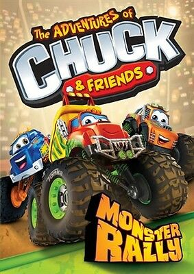 THE ADVENTURES OF CHUCK & FRIENDS MONSTER RALLY New Sealed DVD