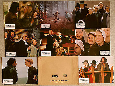 1997 THE CRUCIBLE Daniel Day-Lewis Winona Ryder French Lobby Cards