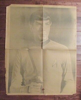 1960's Chicago's American Picture Poster Parade SPOCK & BOGART GD- 24x30