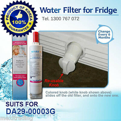 Whirlpool Water Filter 4396508 Replacement by Aqua Blue H2O For 6GS5SHGX Fridge