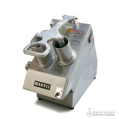Food Processor 300-400kg/hr Anvil Alto Heavy Duty Commercial Slice Grate Cube