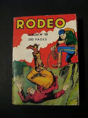 Rodeo reliure 20  1963 BE
