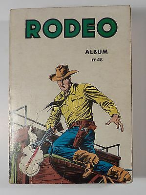 Rodeo reliure 48 avec Tex Willer 1973 TBE