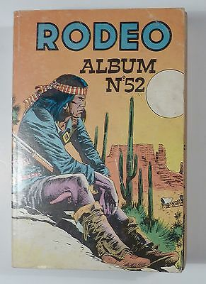 Rodeo reliure 52 avec Tex Willer 1974 TBE
