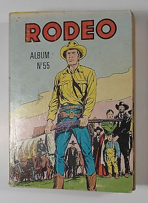 Rodeo reliure 55 avec Tex Willer 1975 TBE