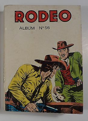 Rodeo reliure 56 avec Tex Willer 1976 TBE