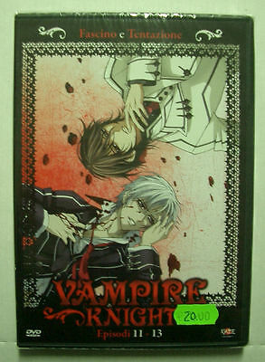 1 DVD ANIME/MANGA-VAMPIRE KNIGHT/FASCINO E TENTAZIONE 4 fumetti,romeo and juliet