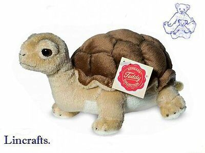 Tortoise Plush Soft Toy by Teddy Hermann Collection. 90114