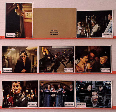 1996 RICHARD III Ian McKellen Annette Bening French Lobby Cards
