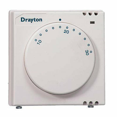 ACL Drayton / Invensys 24002 RTS2 Electronic Room Thermostat with Neon - BNIB