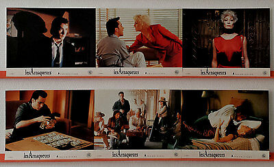1990 THE GRIFTERS Anjelica Huston John Cusack Annette Bening French Lobby Card