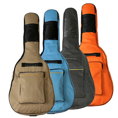 Waterproof Thick Soft Case Big Backpack Double Strap For Acoustic Guitar 40/41''