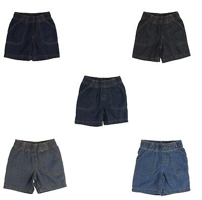 Jumping Beans Denim Shorts for Toddler Boys Bottom Summer Casual Everyday