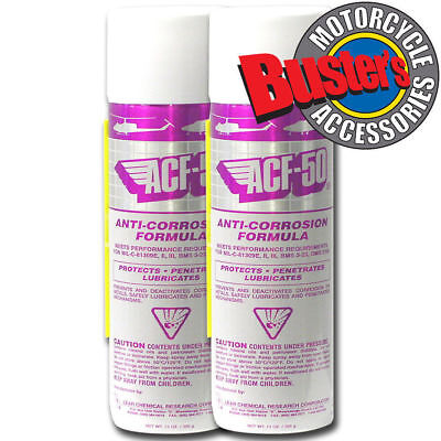 ACF50 ACF-50 Motorcycle Caravan Boat Jet Ski Anti Corrosion Spray Twin Pack X2