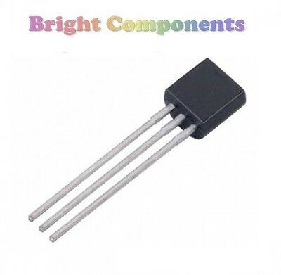 5x DS18B20 Digital Temperature Sensor IC (Thermometer) - TO-92 - 1st CLASS POST