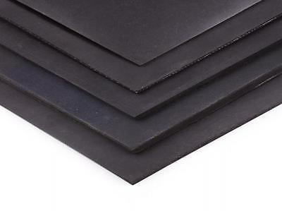 neoprene rubber sheet  - 300mm x 214mm x 0.8mm a4