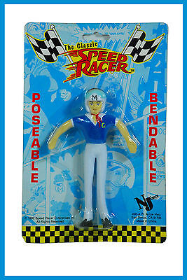 1992 The Classic Speed Racer Poseable Bendable Toy Figure.