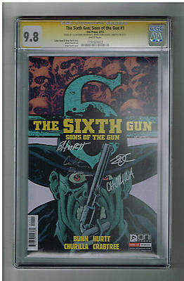 SIXTH GUN: SONS OF THE GUN #1 CGC 9.8 Sig Series signed by entire creative team!