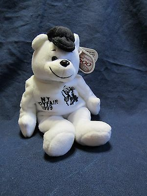 1999 Ny Toy Fair Mickey Mantle Promo Bear 500 Home Run Club Plush Limited Editio